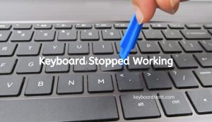 Keyboard Stopped Working